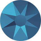Swarovski Flat Backs No Hotfix 2088 SS16 Crystal Metallic Blue 001 METBL
