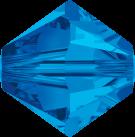 Swarovski Beads 5328 5mm XILION Bicone Sapphire