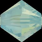 Swarovski Beads 5328 6mm XILION Bicone Pacific Opal