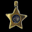 hanger kastjes 21mm oudgoud ster