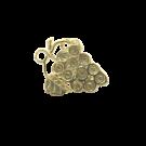 bedels 25mm goud metaal