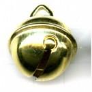 belletjes 22mm goud rond metaal