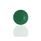boutons 8mm groen rond glas