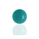 boutons 8mm turquoise rond glas