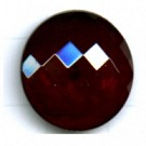 boutons 18mm rood rond glas