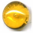 Boutons glas 10mm bruin kleurig rond glas