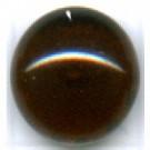 Boutons glas 10mm stijlvol bruin rond glas