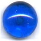 Boutons glas 10mm blauw kleurig rond glas