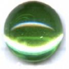 boutons 8mm groen rond gespiegeld glas