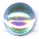 boutons 8mm kristal AB rond glas