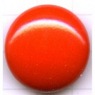 boutons 24mm oranje rond hout