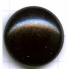 boutons 24mm zwart rond hout