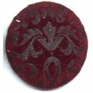 boutons 28mm rood rond