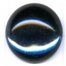boutons 20mm prachtig blauw rond