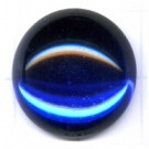 boutons 20mm blauw rond
