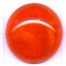 boutons 20mm oranje rond