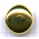 boutons 10mm goud rond metaal