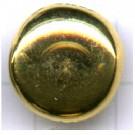 boutons 14mm goud rond metaal
