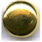 boutons 18mm goud rond metaal