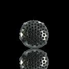 broches 17mm zilver rond metaal