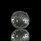 broches 19mm zilver rond metaal