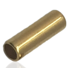 buisjes 12x4mm goud cilinder
