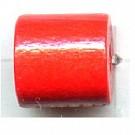 buisjes 10mm rood rechthoek hout