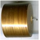 cilinder kralen 23mm goud cilinder