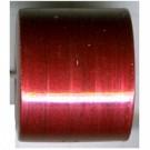 cilinder kralen 23mm rood cilinder