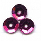 cuvettes 5mm fuchsia roze rond kunststof