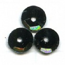 cuvettes 5mm zwartgroen rond kunststof