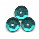 cuvettes 5mm turquoise rond kunststof
