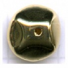 facetkralen 10mm goud rond