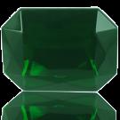 fancy stones 40mm groen rechthoek