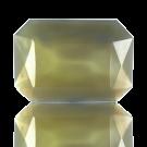 fancy stones 25mm grijs rechthoek glas