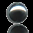 glasparels bouton 6mm blauw rond kleurnummer 448