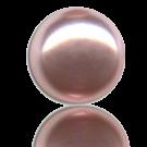 glasparels bouton 6mm roze rond