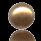 glasparels bouton 6mm bruin rond