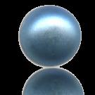 glasparels bouton 6mm blauw rond kleurnummer 537