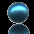 glasparels bouton 6mm blauw rond kleurnummer 569