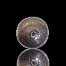 10mm brons-irise glas kraal