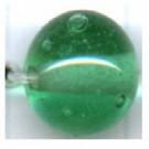 glaskralen 10mm groen rond kleurnummer 2