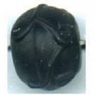 glaskralen 8mm zwart rond kleurnummer 2399