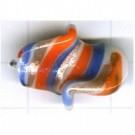 speciale glaskralen 24mm blauw