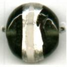 glaskralen 14mm zwart rond