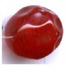 glaskralen 11mm rood