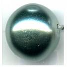 glasparels 14mm groen rond