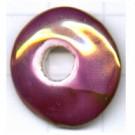 grootgatskralen 20mm paars rond schijf