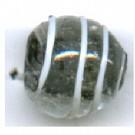 grootgatskralen 9mm wit zwart rond