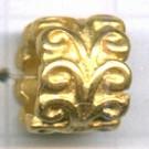 grootgatskralen 10mm goud cilinder
